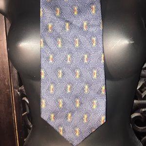 Perry Ellis 100% Silk Tie